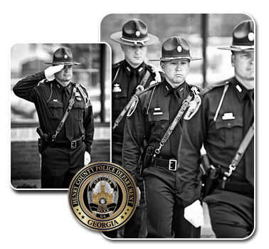 Henry County POlice Department Honor Guard